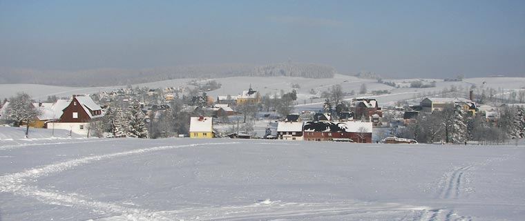 Winter in Hinterhermsdorf